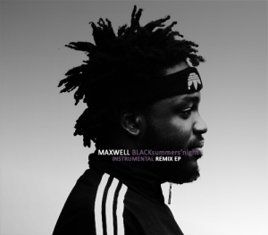 Maxwell BLACKsummers'night Instrumental Remix EP Cover