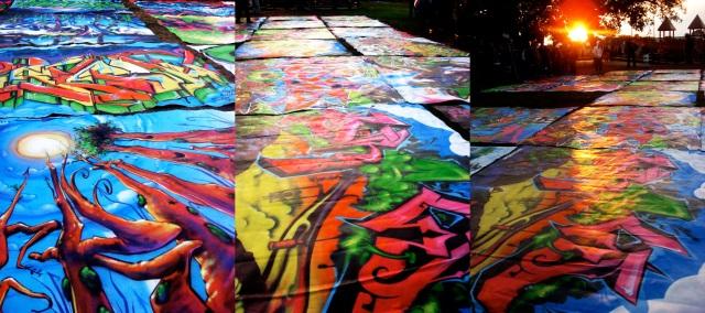 graffitifloor